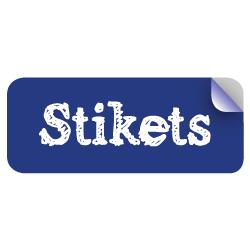 Logo Stikets spÇcialiste Çtiquettes personnalisÇes