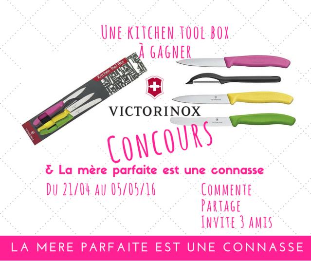 Concours Victorinox kitchen tool box blog la mere parfaite est une connasse (2)