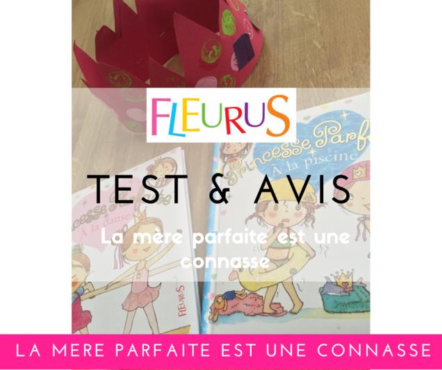 Test et avis editions fleurus collection princesse parfaite a la piscine à la danse