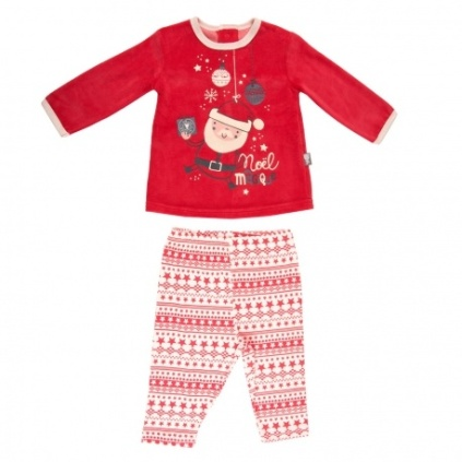 ensemble-bebe-garcon-t-shirt-pantalon-super-noel