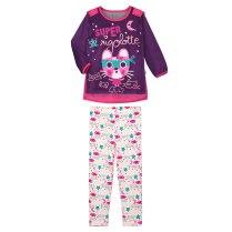 Pyjama-fille-manches-longues-Super-Rigolotte-+-cape-amovible-Petit-Béguin
